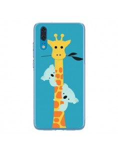 Coque Huawei P20 Koala Girafe Arbre - Jay Fleck