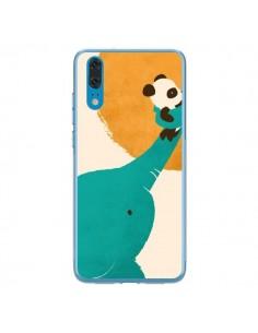 Coque Huawei P20 Elephant Help Panda - Jay Fleck
