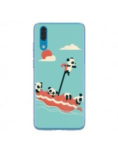 Coque Huawei P20 Parapluie Flottant Panda - Jay Fleck
