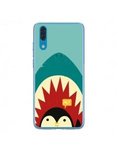 Coque Huawei P20 Pingouin Requin - Jay Fleck