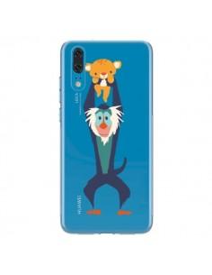 Coque Huawei P20 Futur Roi Lion King Rafiki Transparente - Jay Fleck