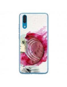 Coque Huawei P20 Bright Pink Femme - Jenny Liz Rome