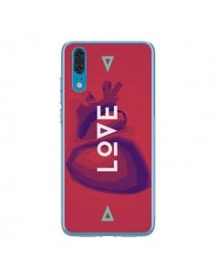 Coque Huawei P20 Love Coeur Triangle Amour - Javier Martinez