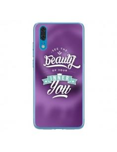 Coque Huawei P20 Beauty Violet - Javier Martinez