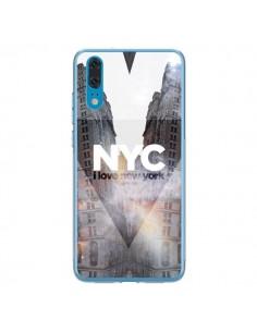 Coque Huawei P20 I Love New York City Orange - Javier Martinez