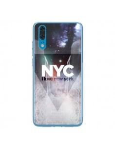 Coque Huawei P20 I Love New York City Bleu - Javier Martinez