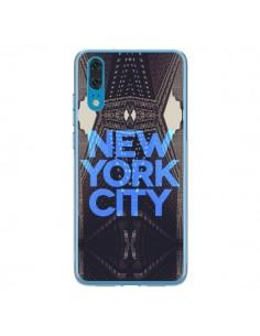 Coque Huawei P20 New York City Bleu - Javier Martinez