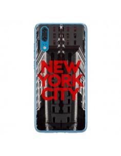 Coque Huawei P20 New York City Rouge - Javier Martinez