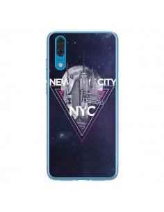 Coque Huawei P20 New York City Triangle Rose - Javier Martinez