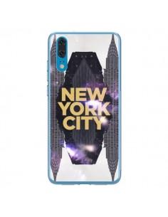 Coque Huawei P20 New York City Orange - Javier Martinez