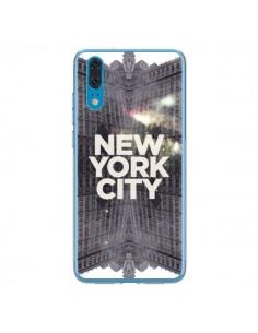 Coque Huawei P20 New York City Gris - Javier Martinez