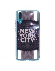 Coque Huawei P20 New York City Violet - Javier Martinez