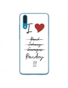Coque Huawei P20 I love Bradley Coeur Amour - Julien Martinez