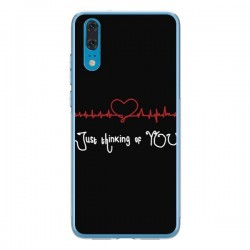 Coque Huawei P20 Just Thinking of You Coeur Love Amour - Julien Martinez
