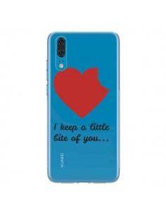 Coque Huawei P20 I keep a little bite of you Love Heart Amour Transparente - Julien Martinez