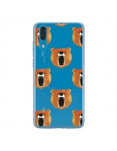 Coque Huawei P20 Ours Ourson Bear Transparente - Dricia Do