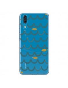 Coque Huawei P20 Poisson Fish Water Transparente - Dricia Do
