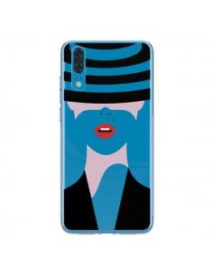 Coque Huawei P20 Femme Chapeau Hat Lady Transparente - Dricia Do