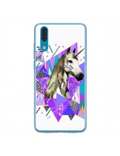 Coque Huawei P20 Licorne Unicorn Azteque - Kris Tate