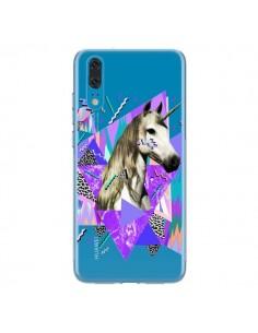 Coque Huawei P20 Licorne Unicorn Azteque Transparente - Kris Tate