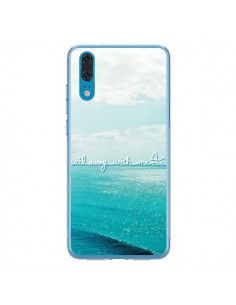 Coque Huawei P20 Sail with me - Lisa Argyropoulos