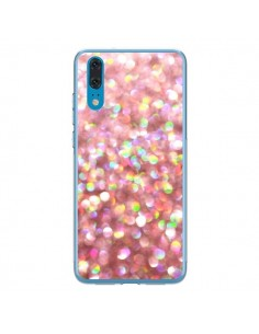 Coque Huawei P20 Paillettes Pinkalicious - Lisa Argyropoulos