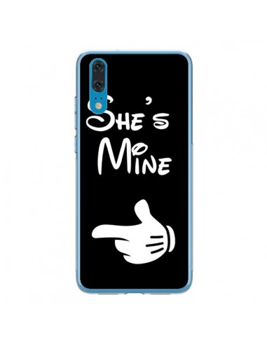 Coque Huawei P20 She's Mine Elle est à Moi Amour Amoureux - Laetitia