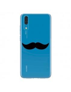 Coque Huawei P20 Moustache Movember Transparente - Laetitia