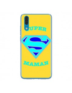 Coque Huawei P20 Super Maman Superman - Laetitia