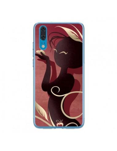 Coque Huawei P20 Femme Asiatique Love Coeur - LouJah