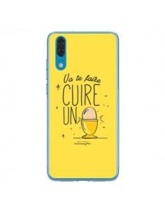 Coque Huawei P20 Va te faire cuir un oeuf jaune - Leellouebrigitte