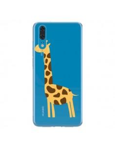 Coque Huawei P20 Girafe Giraffe Animal Savane Transparente - Petit Griffin