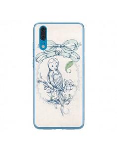 Coque Huawei P20 Bird Oiseau Mignon Vintage - Lassana