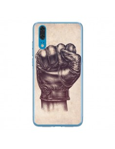 Coque Huawei P20 Fight Poing Cuir - Lassana