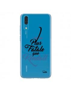 Coque Huawei P20 Plus Fatale que Kendall Transparente - Lolo Santo