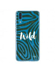 Coque Huawei P20 Wild Zebre Jungle Transparente - Lolo Santo