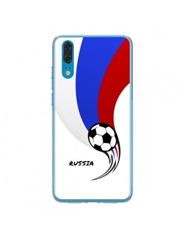 Coque Huawei P20 Equipe Russie Russia Football - Madotta