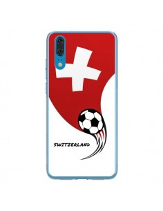 Coque Huawei P20 Equipe Suisse Switzerland Football - Madotta