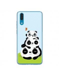 Coque Huawei P20 Panda Famille - Maria Jose Da Luz