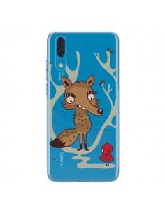 Coque Huawei P20 Le Petit Chaperon Rouge Loup Hello Big Wolf Transparente - Maria Jose Da Luz
