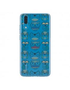 Coque Huawei P20 Chouettes Owl Hibou Transparente - Maria Jose Da Luz
