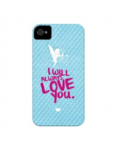 Coque I will always love you Cupidon pour iPhone 4 et 4S - Javier Martinez