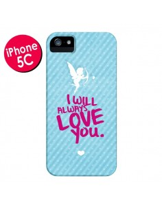 Coque I will always love you Cupidon pour iPhone 5C - Javier Martinez