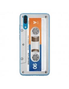 Coque Huawei P20 White Cassette K7 - Maximilian San