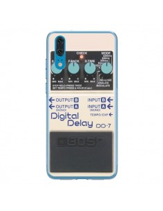 Coque Huawei P20 Digital Delay Radio Son - Maximilian San