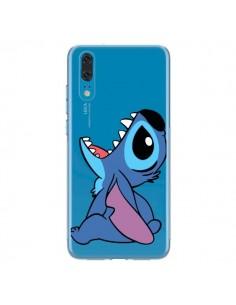 Coque Huawei P20 Stitch de Lilo et Stitch Transparente