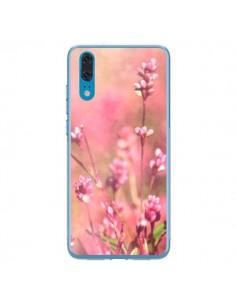 Coque Huawei P20 Fleurs Bourgeons Roses - R Delean