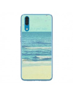 Coque Huawei P20 Life good day Mer Ocean Sable Plage Paysage - R Delean