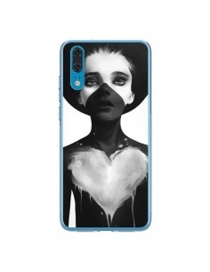 Coque Huawei P20 Fille Coeur Hold On - Ruben Ireland