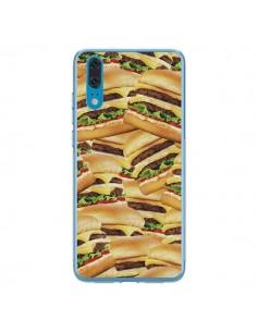 Coque Huawei P20 Burger Hamburger Cheeseburger - Rex Lambo